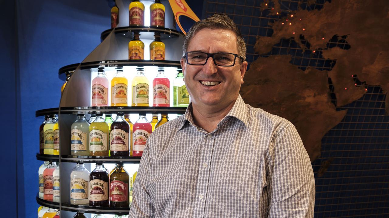 Bundaberg Brewed Drinks CEO John McLean.