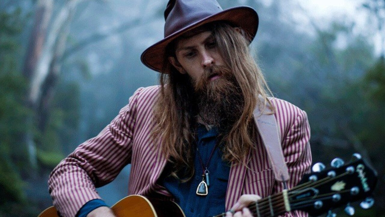 Karl S. Williams is playing at Rainbow Beach next month.