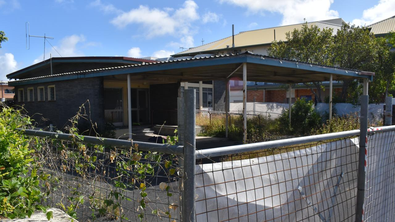 This abandoned building at 33 River St was one of the many empty retail and commercial spaces in Mackay's CBD in September 2020. Picture: Zizi Averill