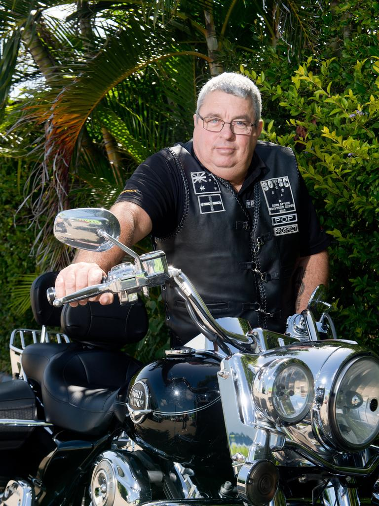 Wes Carlton, a Mackay motorcyclist better known as
