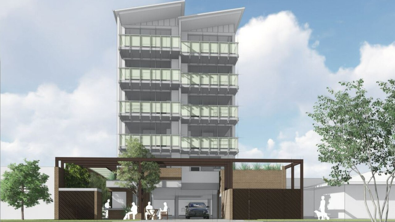 Maroochydore-based Vantage Building Group submitted a proposal for a mixed-use development including 10, one-bedroom units, an office and food and drink outlet on Parker St, Maroochydore. Picture: Supplied