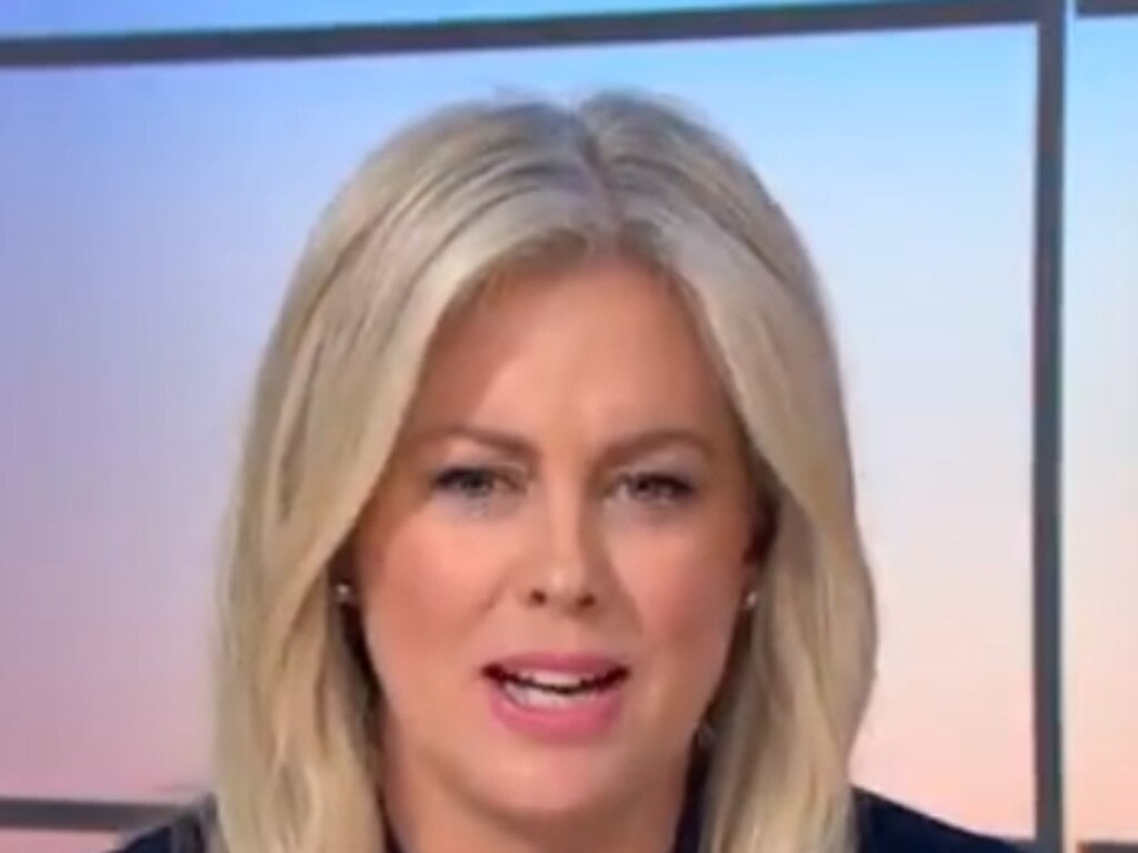 Samantha Armytage defended Harry Hutchinson this morning for opening his store against the Chief Health Officer's directions.