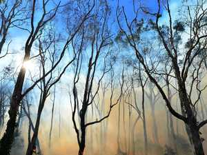 Fire crews continue to battle Fraser Island blaze