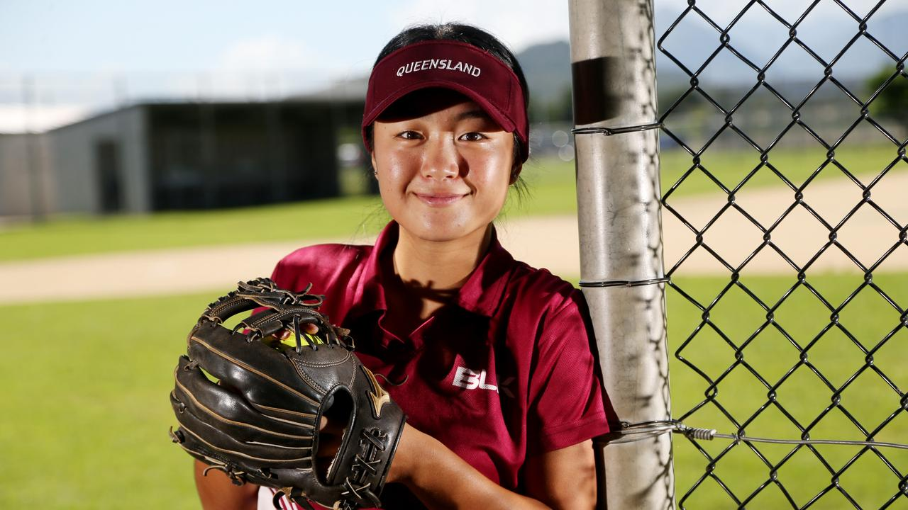 FNQ softballer Hirari Kurihara will be a player to watch at the state titles. .PICTURE: STEWART MCLEAN