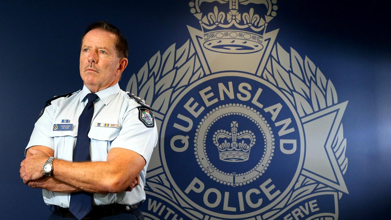 Retired Superintendent Jim Keogh during his last day on the Gold Coast as boss of the RAP. Picture: Glenn Hampson
