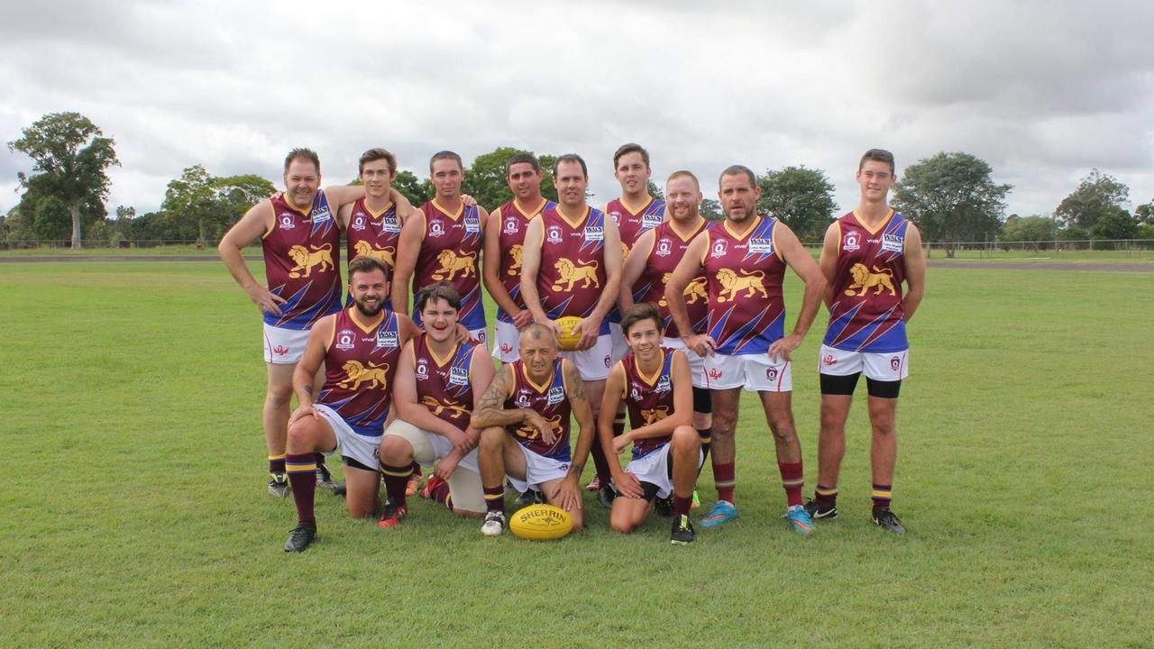 ROARING AGAIN: After a six year hiatus the Casino Lions hope to be playing in the 2021 local Aussie rules competition, thanks to the enthusiasm of players wanting to wear a home team jersey.