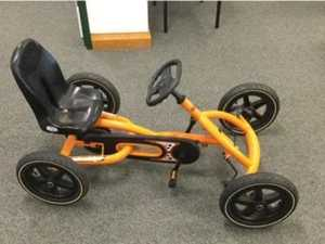 LOST: Peddle cart seeks owner