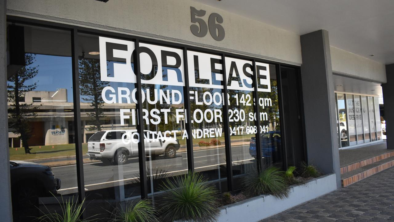 56 Gordon St was one of the many empty retail and commercial spaces in Mackay's CBD in September 2020. Picture: Zizi Averill