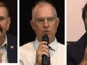 Winners, losers from Gympie's only live election debate