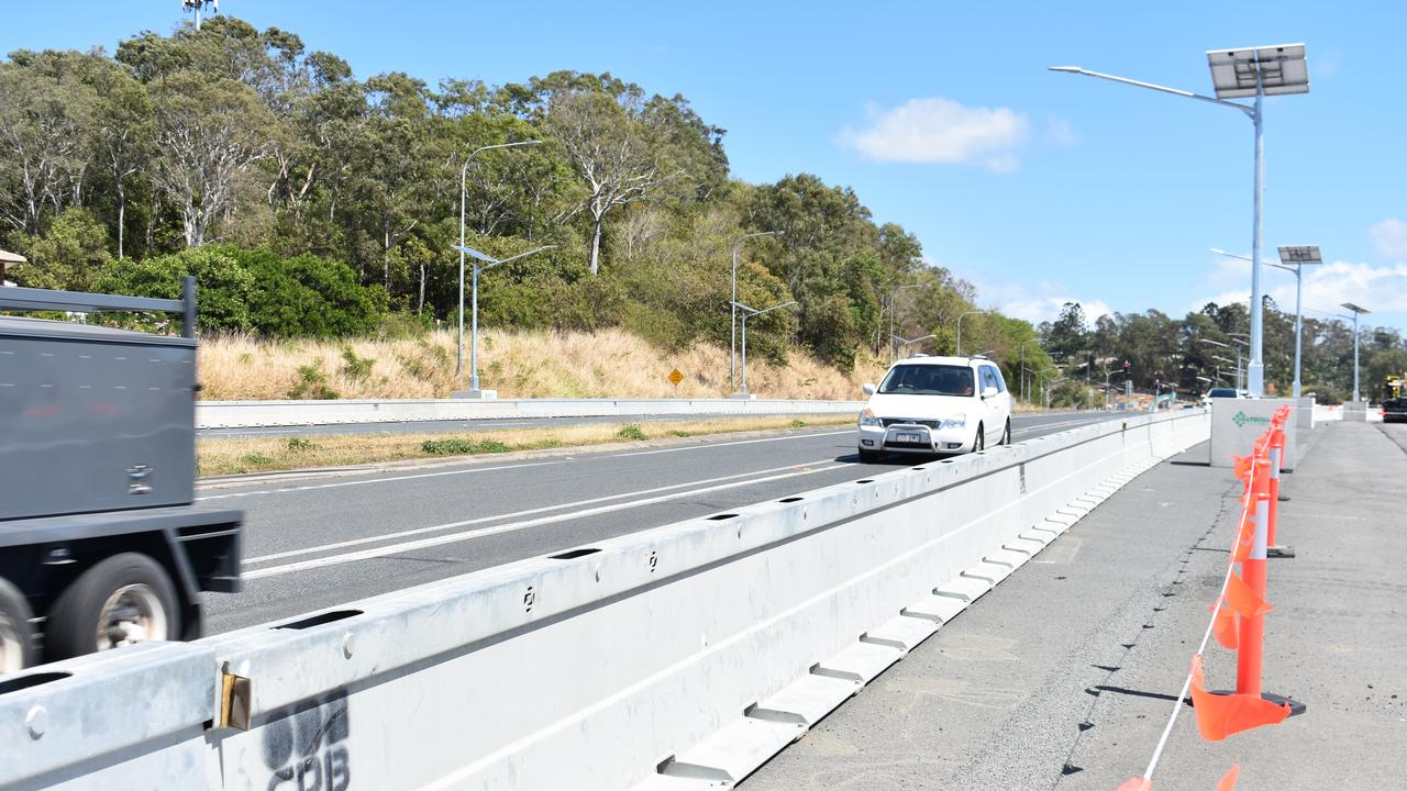 Progress on the Mackay Northern Access Upgrade. Picture: Melanie Whiting