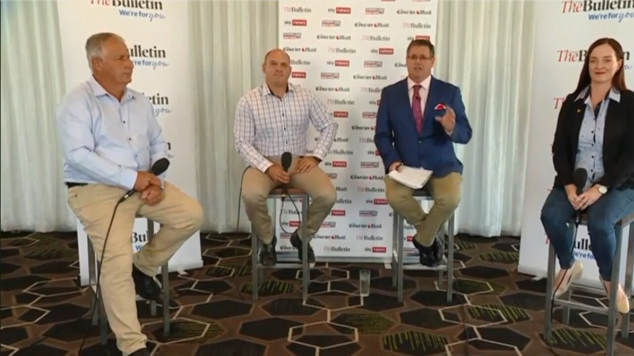 KEPPEL DEBATE: Incumbent Labor candidate Brittany Lauga, LNP candidate Adrian de Groot and One Nation's Wade Rothery participated in a live streamed debate to convince locals why they should vote for them.