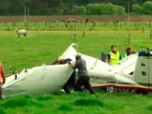 Baby's miraculous plane crash survival