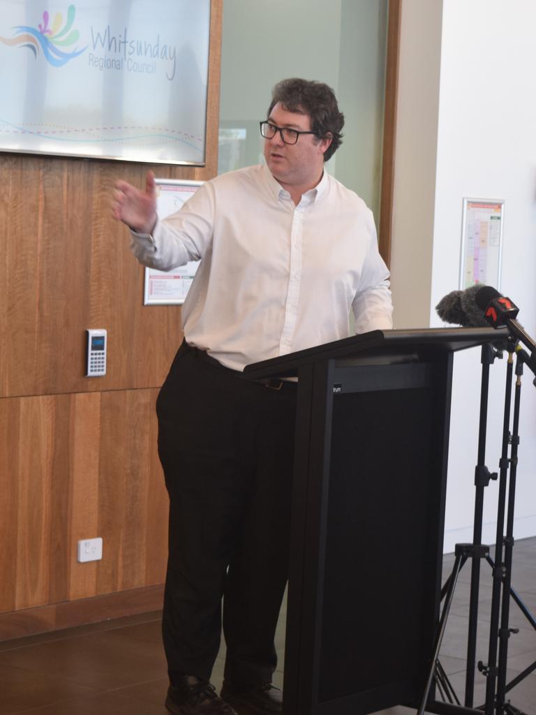 Dawson MP George Christensen. Picture: Laura Thomas