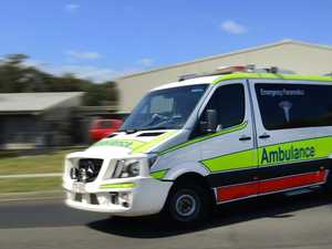 Woman suffers 'significant' leg injury in smash