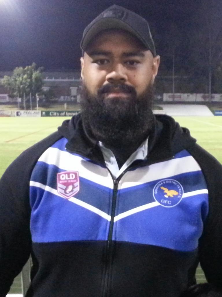 Goodna A-Grade rugby league coach Alistair Taua'aletoa.