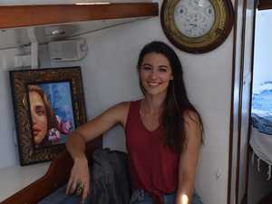 Bundy artist learns to sail, set to travel world on boat