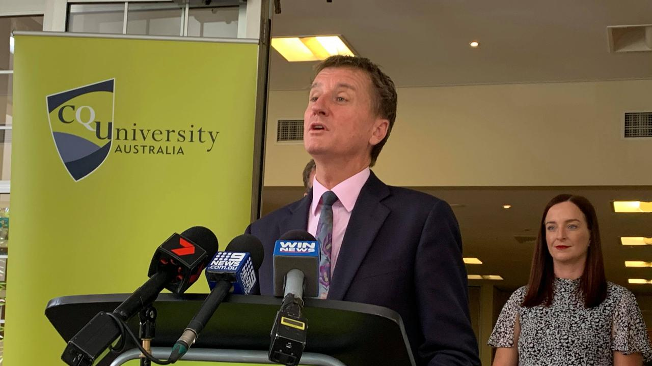 CQUniversity Vice-Chancellor Nick Klomp welcomed the recent Labor election pledge to provide $8.4m for Stage 1 for Rockhampton's TAFE Centre of Excellence.