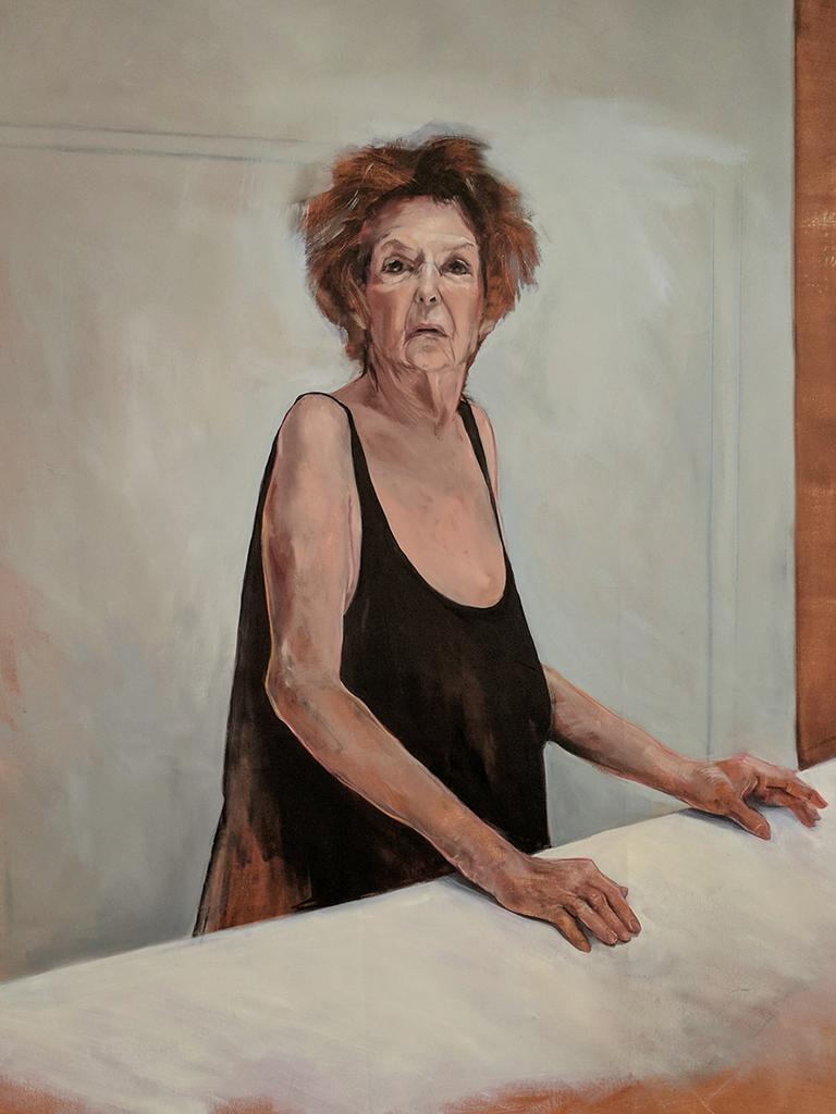 Vera (Vera Wasowski). 2019. Oil on canvas.