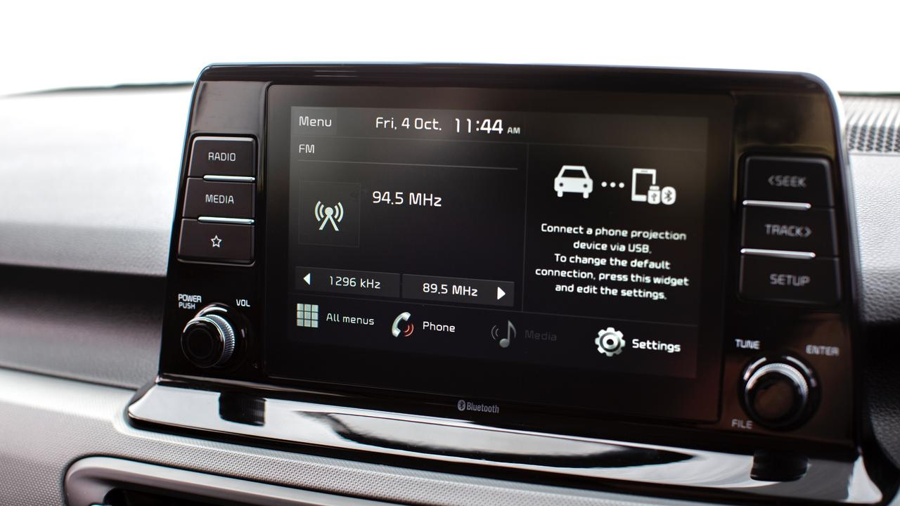 There is nothing too complicated with the touchscreen system.
