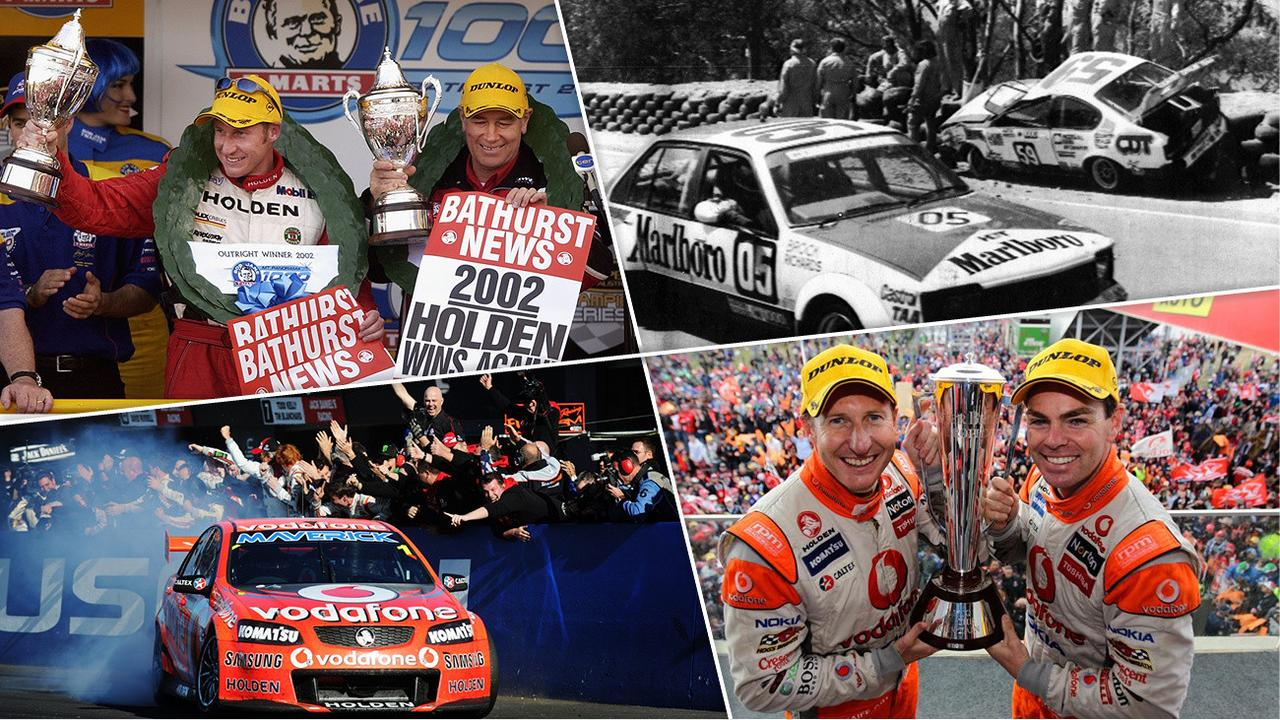 Kings of the Mountain: the greatest Bathurst moments.