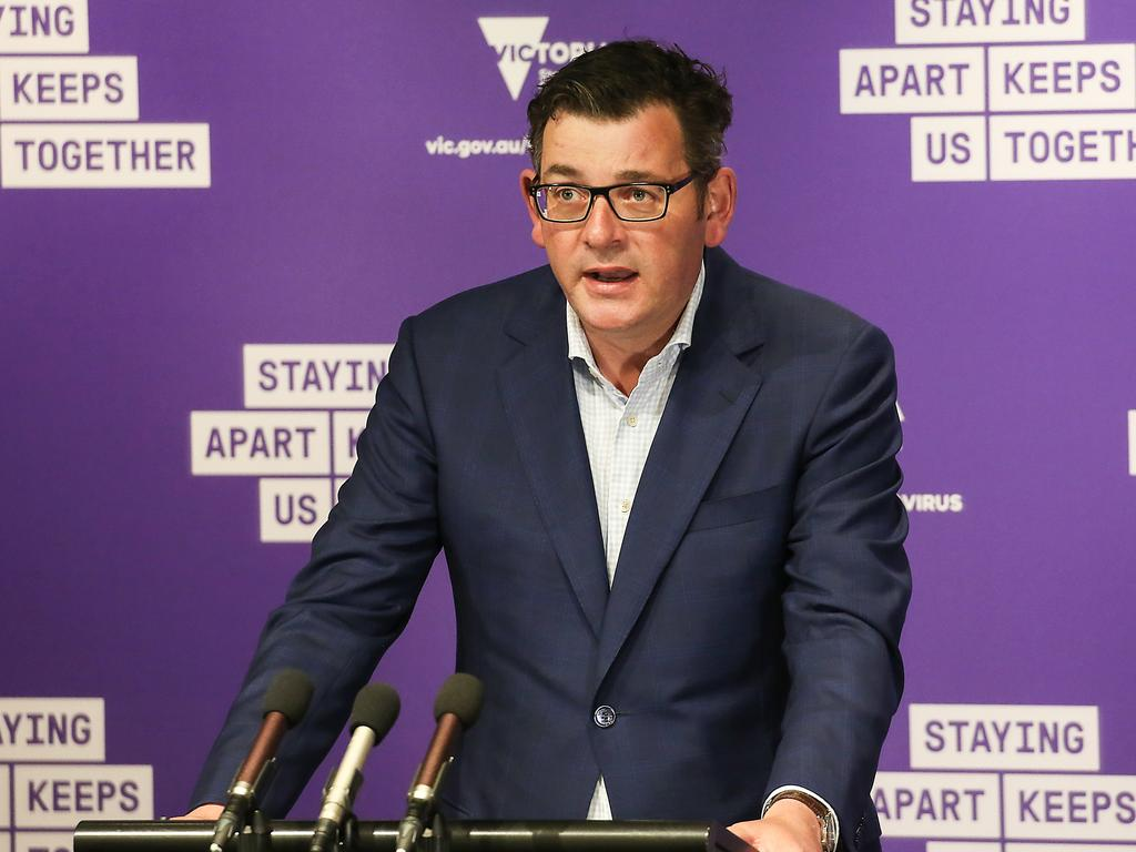 Victorian Premier Daniel Andrews. Picture: NCA NewsWire / Ian Currie