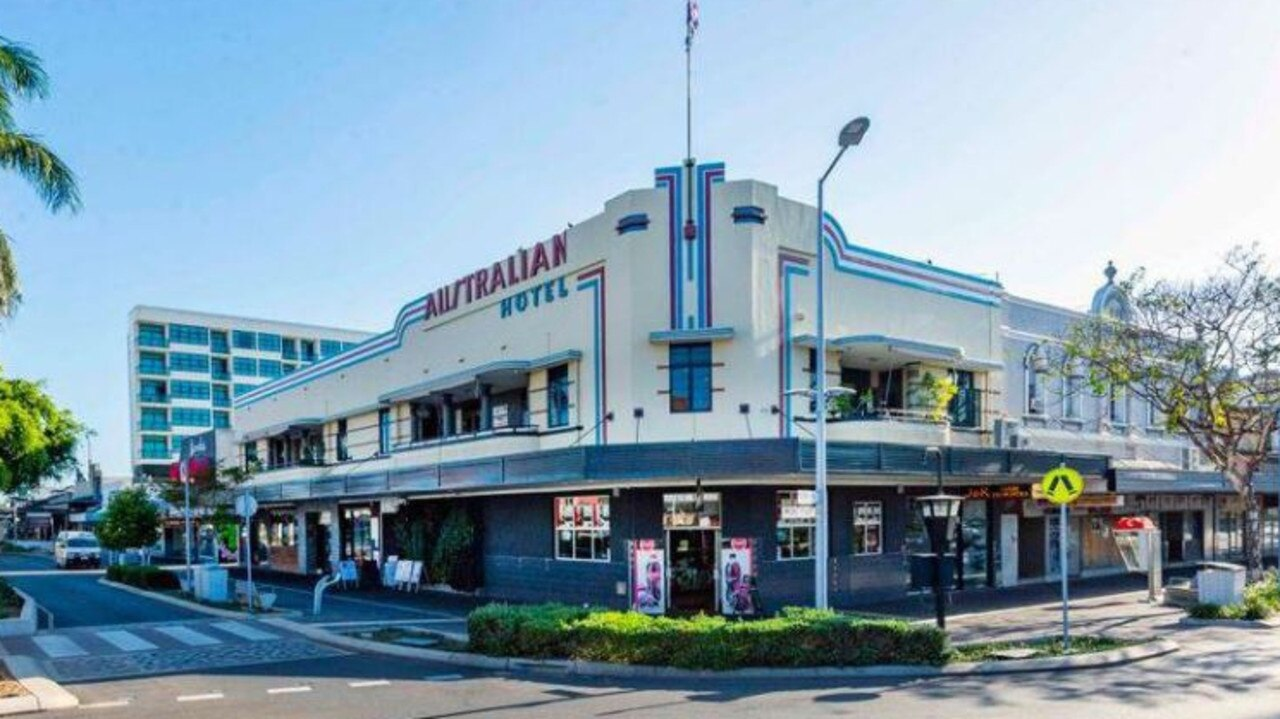 The Australian Hotel at 83 Victoria St, Mackay is back on the market. Picture: Raine and Horne Commercial