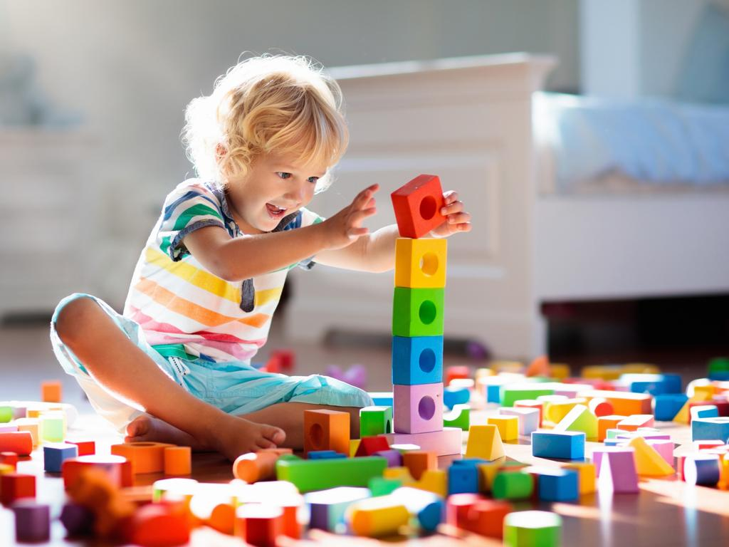 Toy blocks are a favourite for kids – and every domestic god's nightmare.