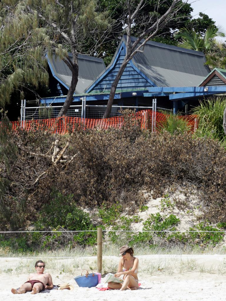 File photo of Clarke's beach Cafe at Byron Bay. PicDavid/Clark