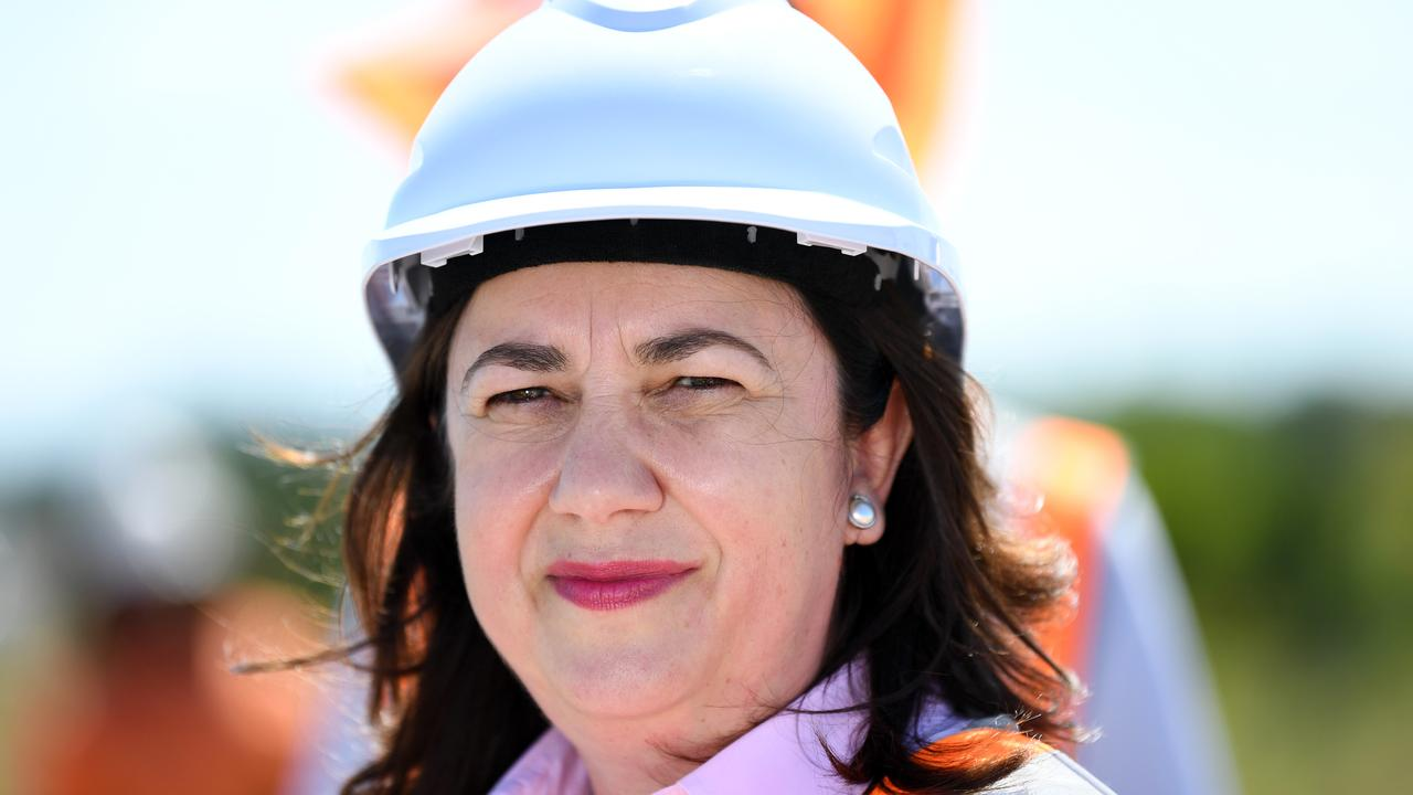 Queensland Premier Annastacia Palaszczuk says more community consultation is needed on the proposed surf ranch and residential development at Coolum West. Picture: NCA NewsWire / Dan Peled