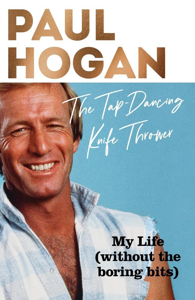 No boring bits ... The Tap-Dancing Knife Thrower by Paul Hogan.