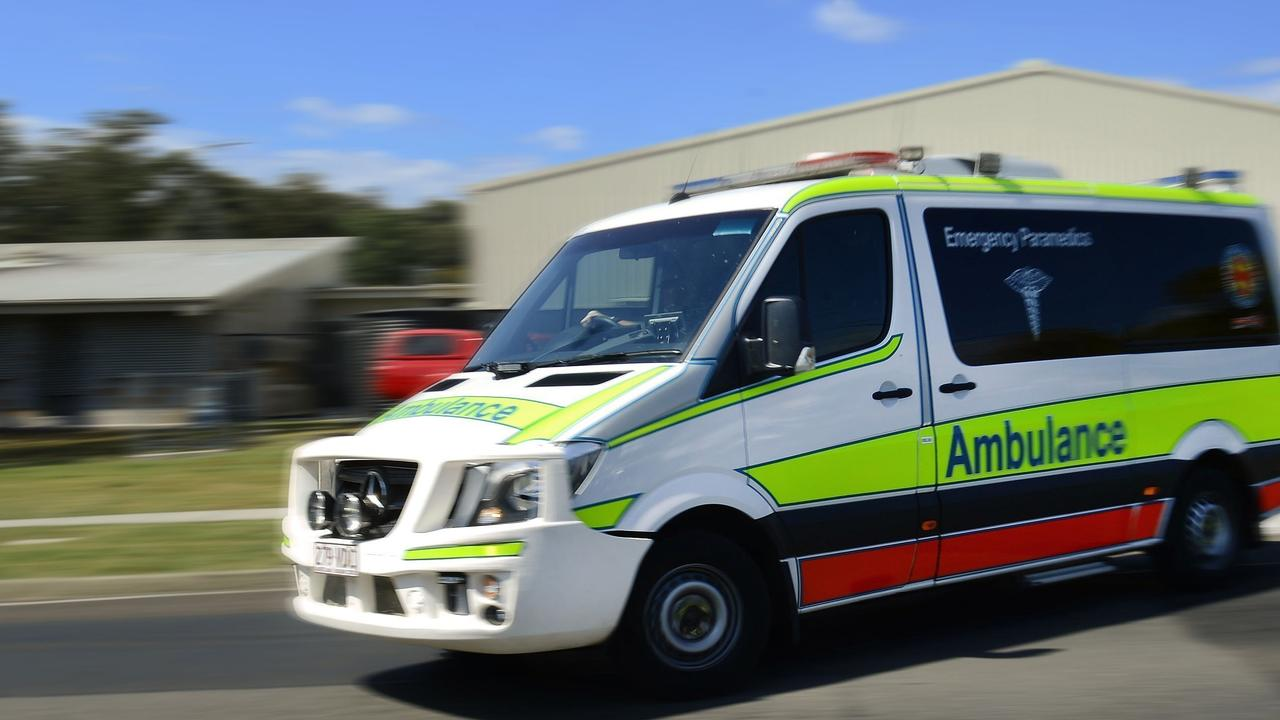 BREAKING: Emergency services rush to single vehicle rollover outside Warwick.