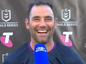 Smith loses it over Channel 9 stitch-up