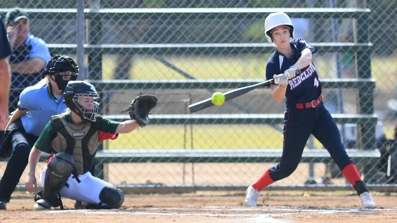 Eleven teams are taking part in the Queensland open women's softball championships being played in Rockhampton. Photo: Jann Houley