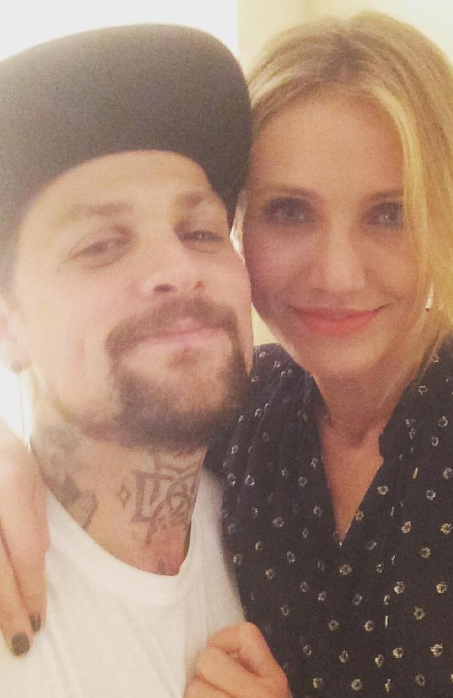 Benji Madden and Cameron Diaz recently welcomed a baby daughter. Picture: Instagram