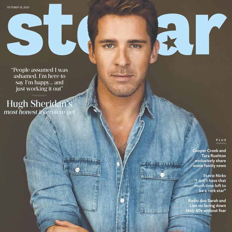 Hugh Sheridan stars on the cover of this Sunday's Stellar.