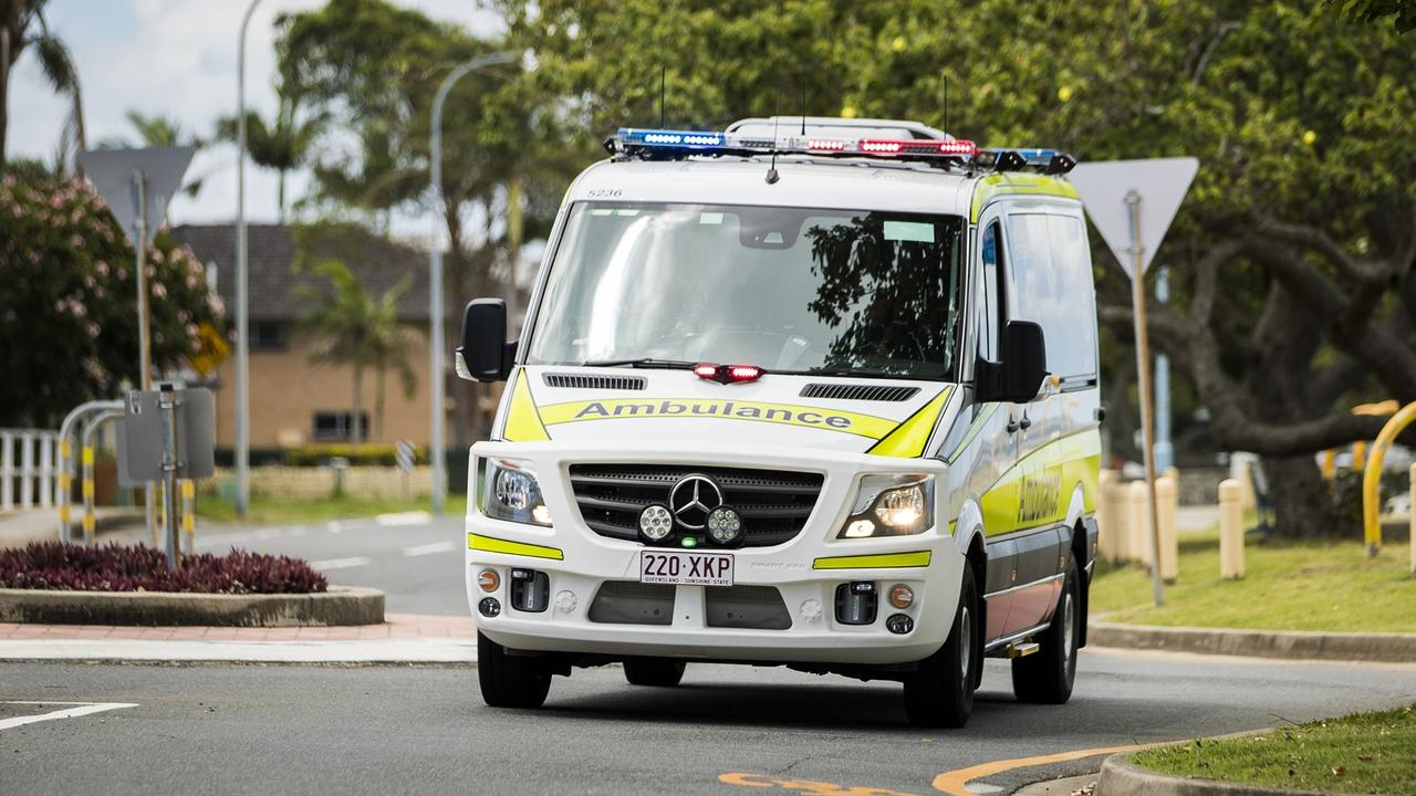 A Queensland Ambulance Service spokeswoman said paramedics were called to the Alligator Creek after a single-vehicle crash injured a woman in the early hours of Sunday morning.