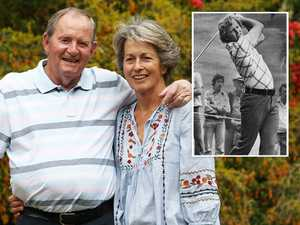 Aussie golf legend's battle against Alzheimers