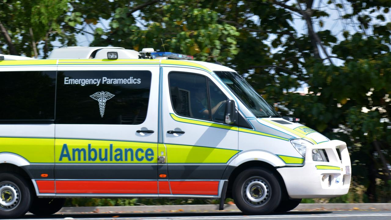 A Queensland Ambulance Service spokesman said paramedics were called to the intersection of Blacks Beach Rd and Slater Ave at 1.18pm