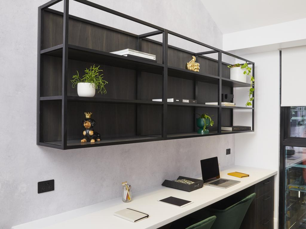 An office space that you will make you want to get to your desk. Picture: Channel 9