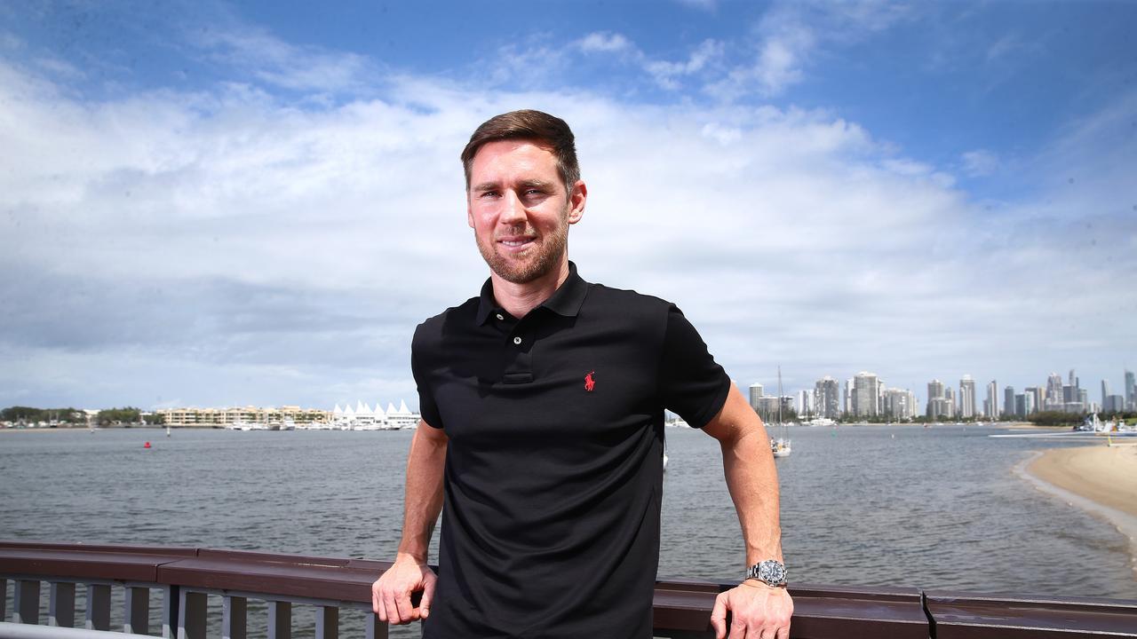Gold Coast United's Shane Smeltz.. Pic Adam Head