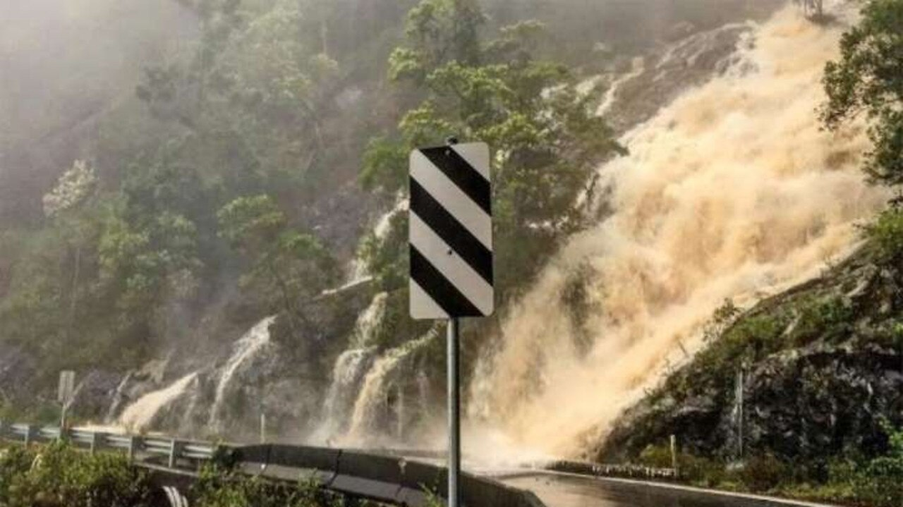 MOTHER NATURE: It's not called Waterfall Way for nothing. This is a photo from a few years ago by Noel Sawtell.