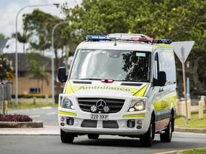 BREAKING: Man in hospital after motorbike smash