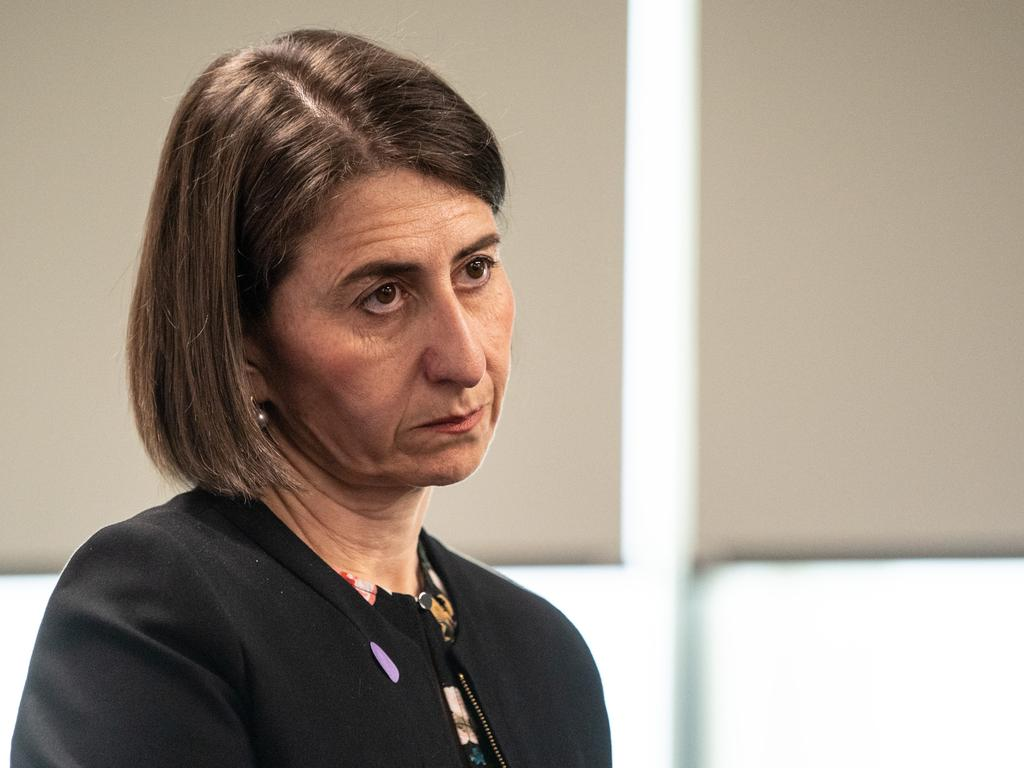 Premier Gladys Berejiklian survived multiple no-confidence motions this week, following the revelations. Picture: NCA NewsWire / James Gourley