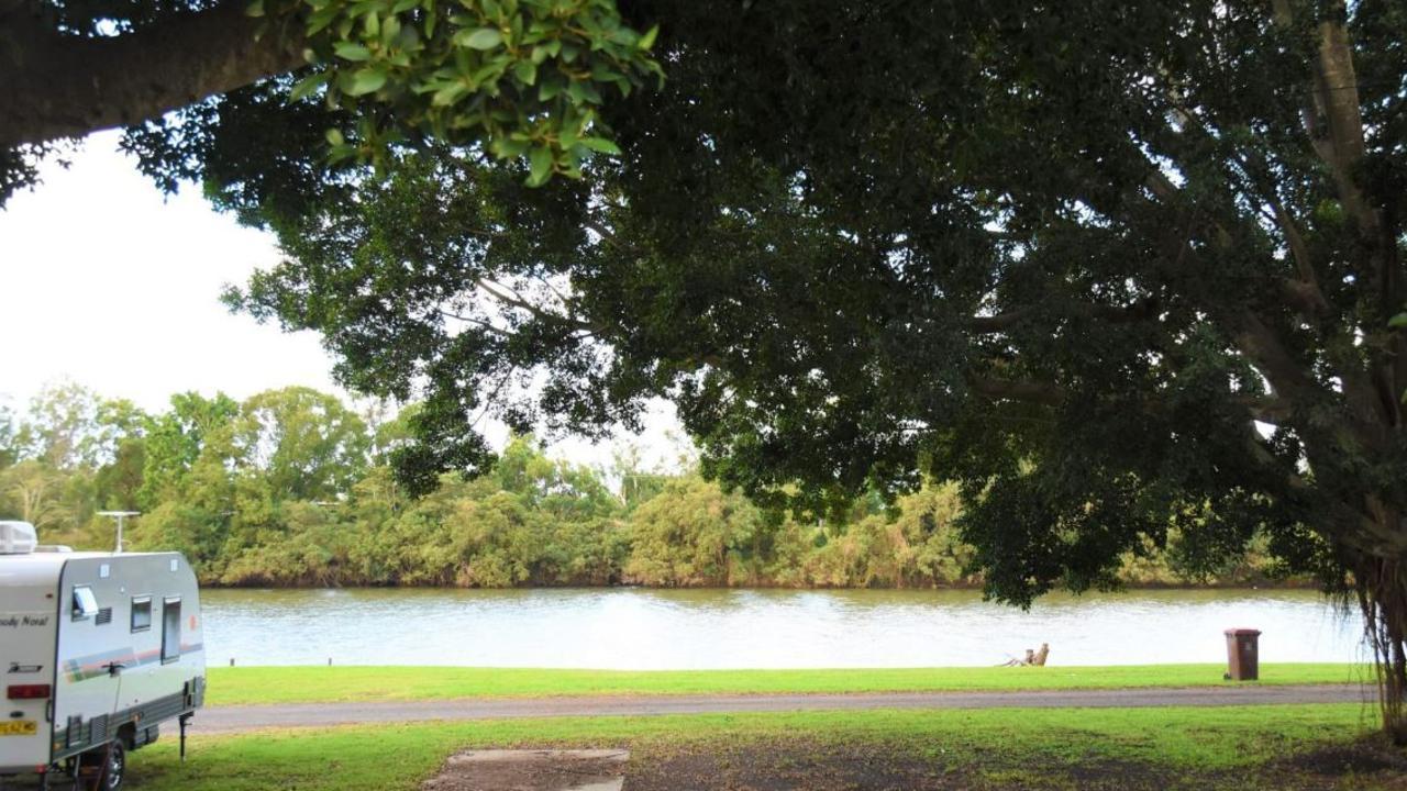 The Coraki Riverside Caravan Park and Camping Grounds.