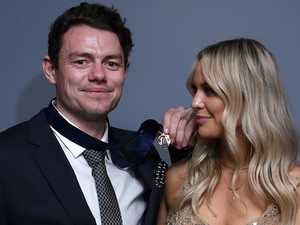 Brownlow winner's WAG steals night