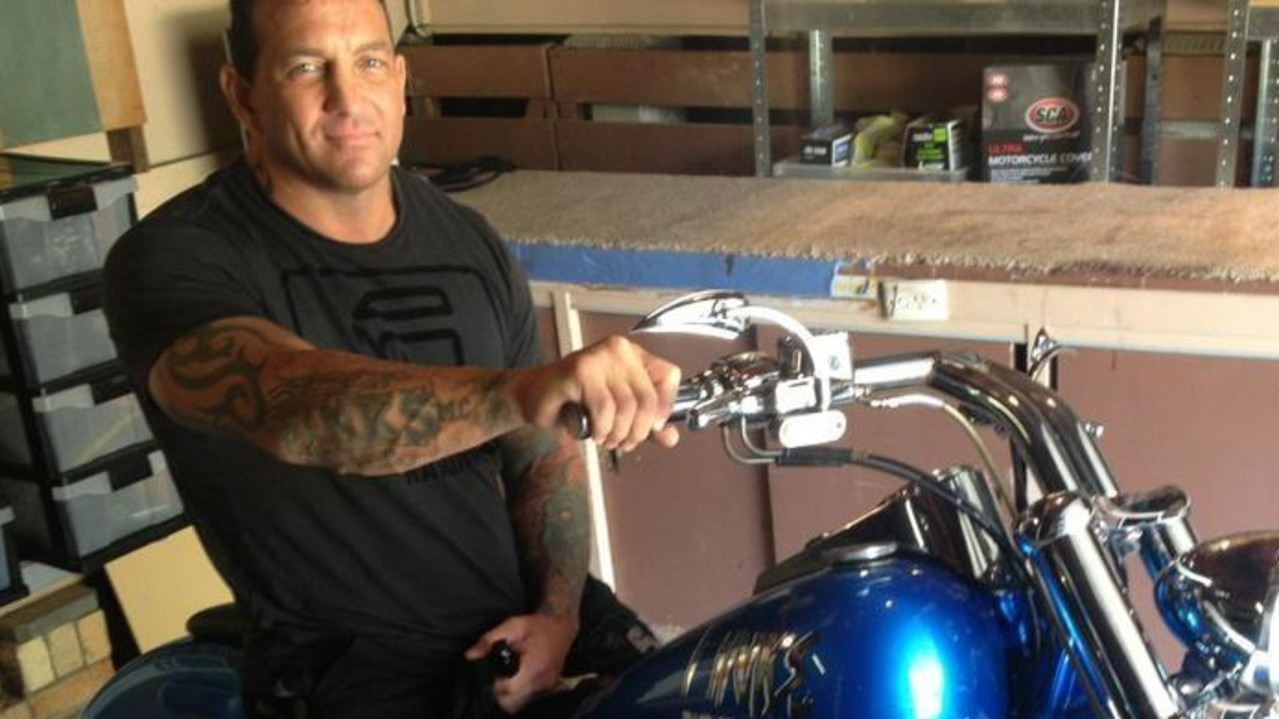 Notorious bikie Shane Bowden was gunned down in his driveway in Queensland. Picture: Facebook