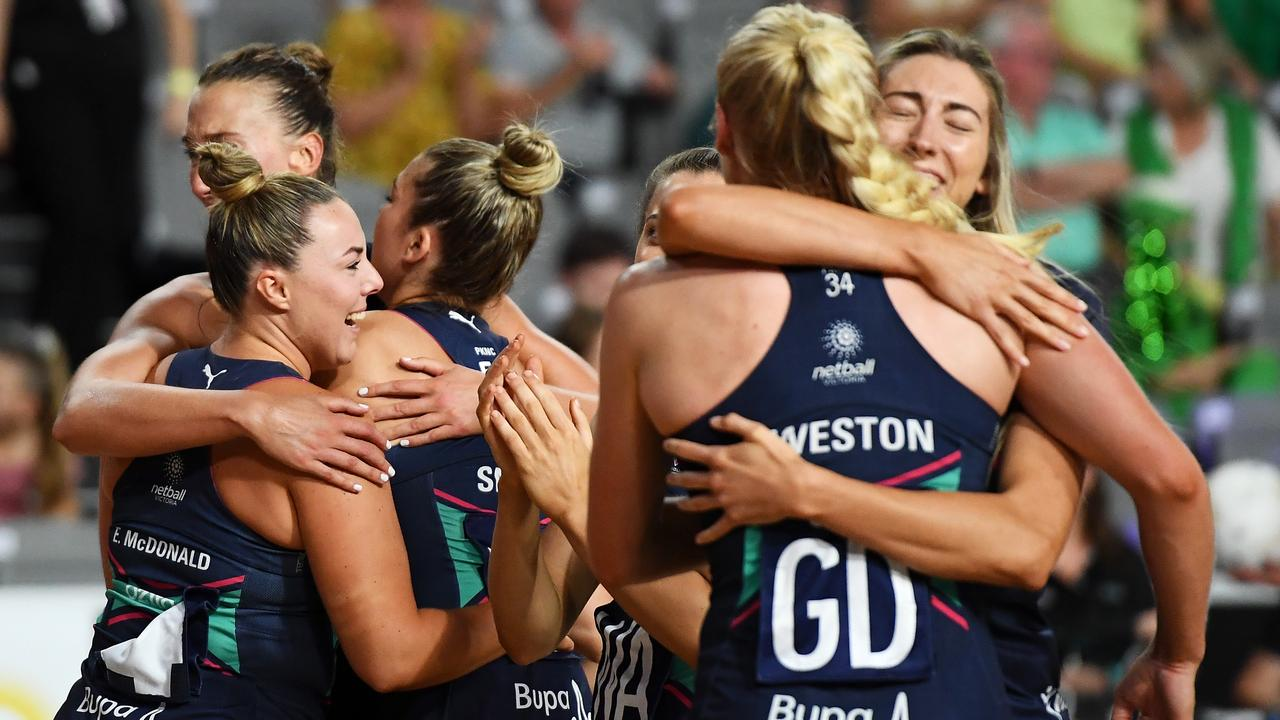 Melbourne Vixens dedicated their triumph to Victorians struggling in lockdown.