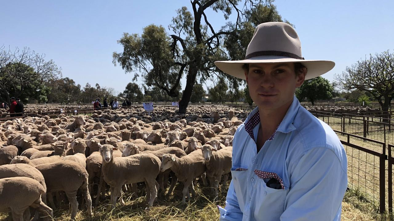 Ian Cameron is a sheep farmer in NSW. Picture: Supplied