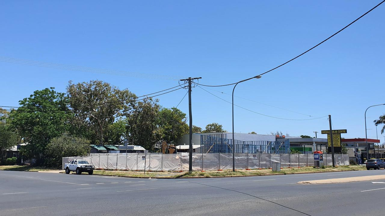 A drive through Fairbairn Bakery is being constructed on the corner of Hospital Rd and Brief St, Emerald, and is expected to open in 2021.