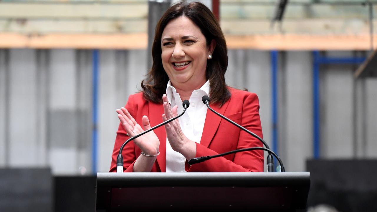Queensland Premier Annastacia Palaszczuk. Picture: NCA NewsWire / Dan Peled